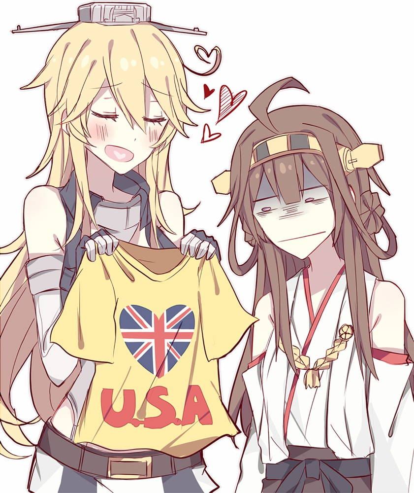 Iowa и Kongou Kantai Collection прикол