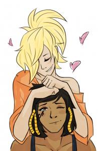 Mercy and Pharah